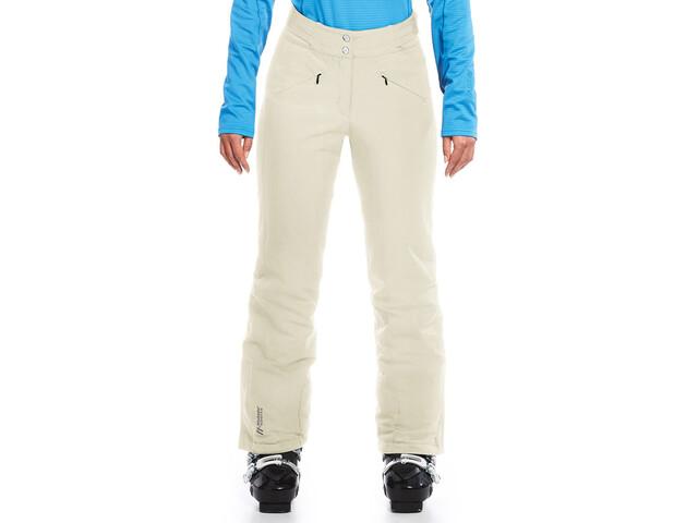 Maier Sports Allissia Slim Pantalon de sky mTex Femme, snow white